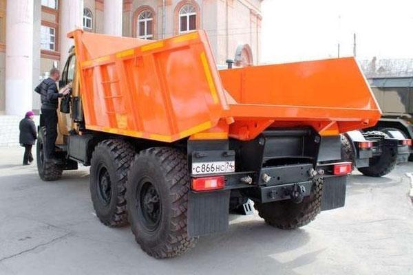 Новый самосвал Урал - NEXT с кабиной от GAZели