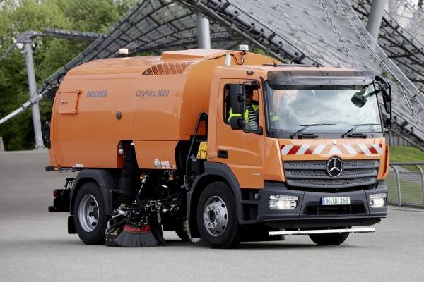 Mercedes-Benz Atego на IFAT 2014