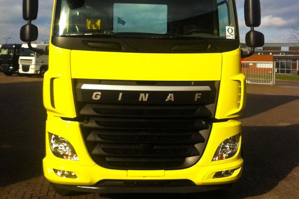 Грузовики Ginaf X6 со знакомым лицом