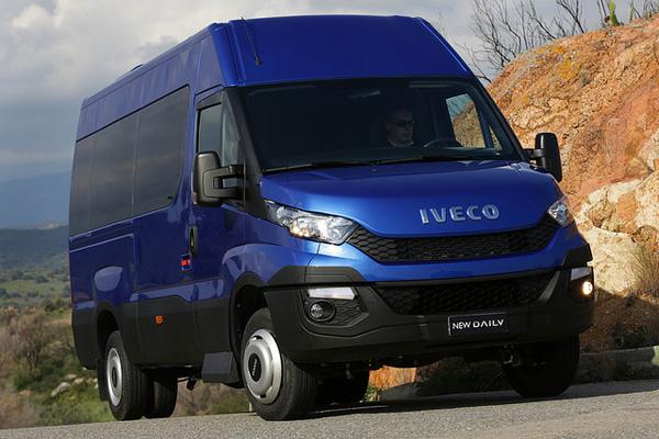 Iveco представила полностью обновленную модель легкого грузовика Daily 2014
