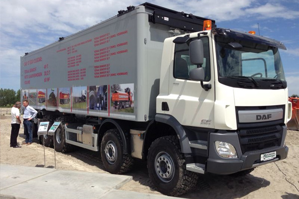 Clixtar DAF - грузовик прицеп