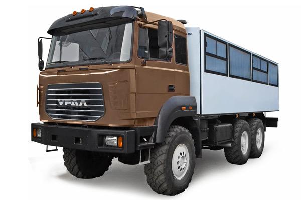 Новая строительная техника на базе семейства «Урал-М»