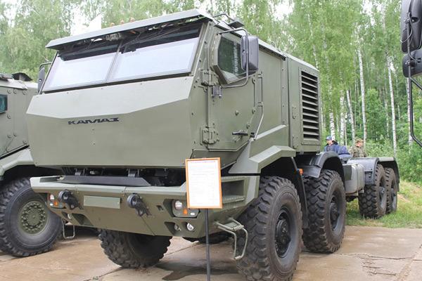 КАМАЗ на военке - новый 6560М Торнадо