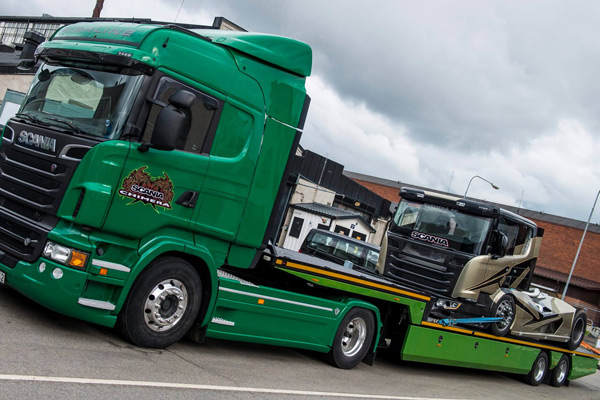 Scania Химера в Швейцарии
