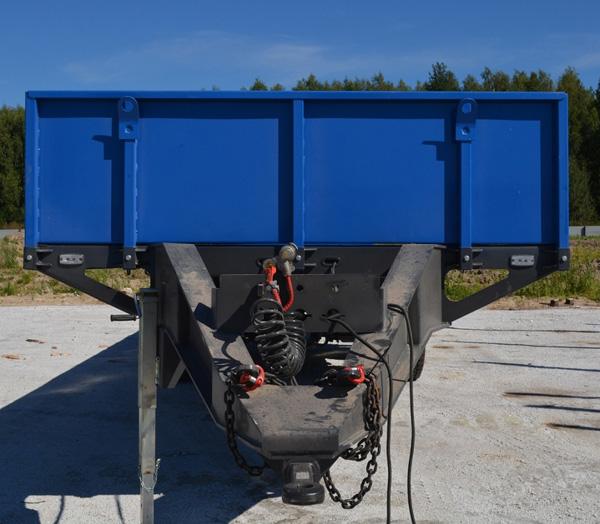 Новый тракторный прицеп ТОНАР в линейке сельскохозяйственной техники