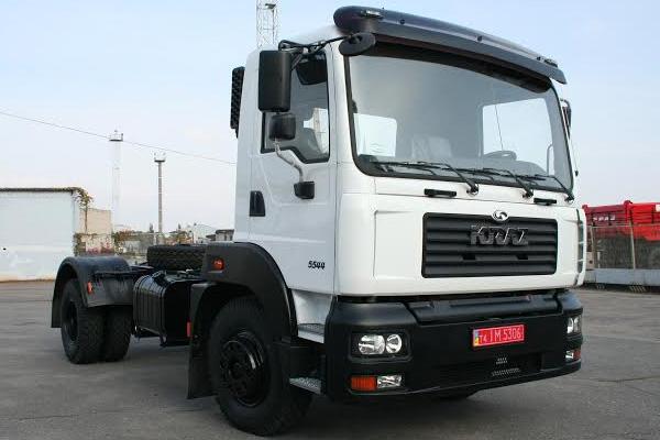 Новое мобильное малотоннажное шасси  КрАЗ Н12.2M