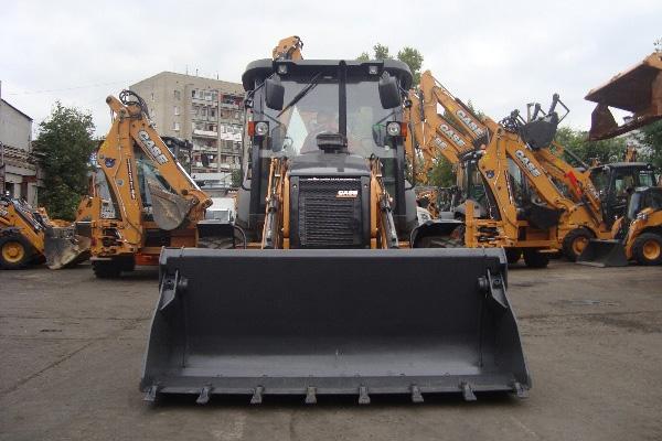 Новый экскаватор CASE 570 серии Т