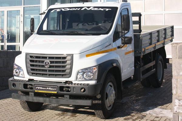 Начало продаж малотоннажных грузовиков Газон NEXT