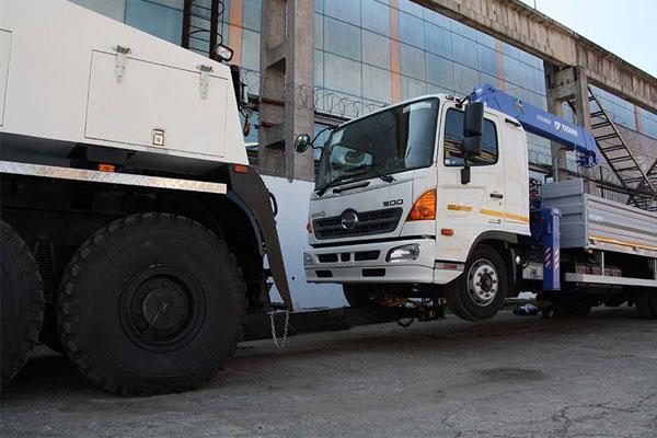 Эвакуатор с частичной погрузкой КАМАЗ-6560