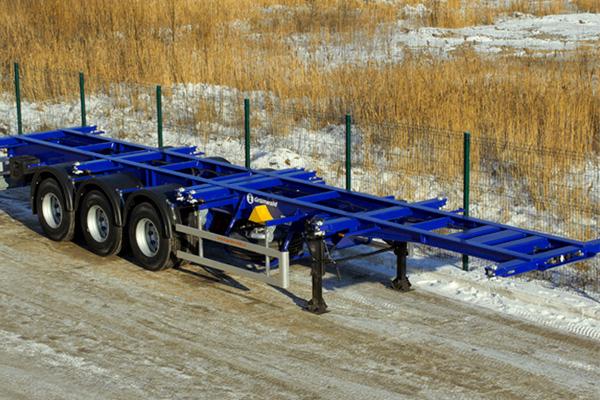 Усиленный прямой контейнеровоз Grunwald с 14-тонными осями