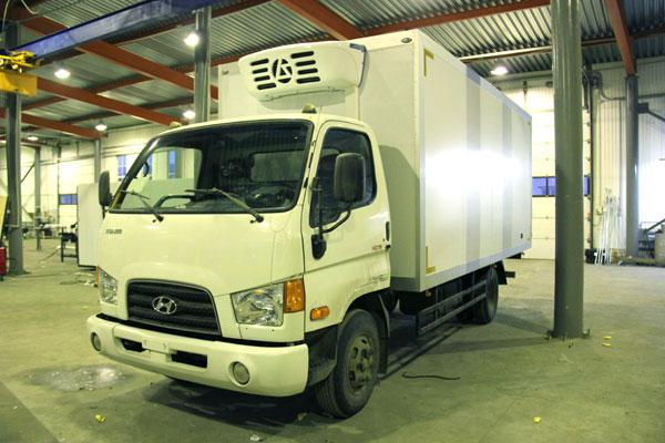 Завод «НижСпецАвто» выпустил фургон-рефрижератор на базе Hyundai HD 78