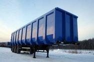 ТОНАР выпустил кузов для металлолома под контейнеровоз