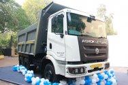 Новая линейка самосвалов Ashok Leyland Captain