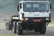 Новое самоходное шасси КрАЗ под тяжелое оборудование