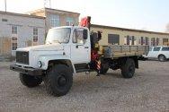 «НижСпецАвто» представил кран-манипулятор ГАЗ 33081 «Садко» с КМУ Fassi F65