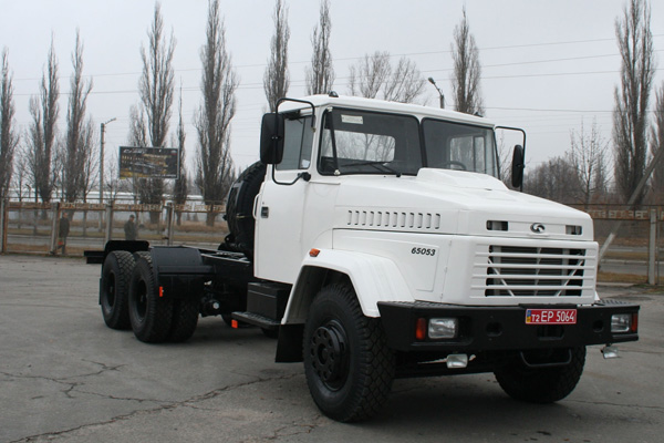 Нефтяники Казахстана получат новую спецтехнику на базе КрАЗа