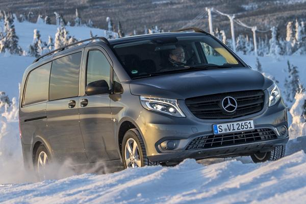 Новый Mercedes-Benz Vito 4x4