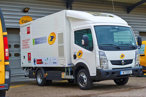 Водородный Renault Maxity с топливным элементом