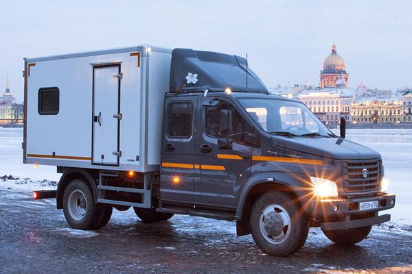 Новые модели ГАЗона Next для города