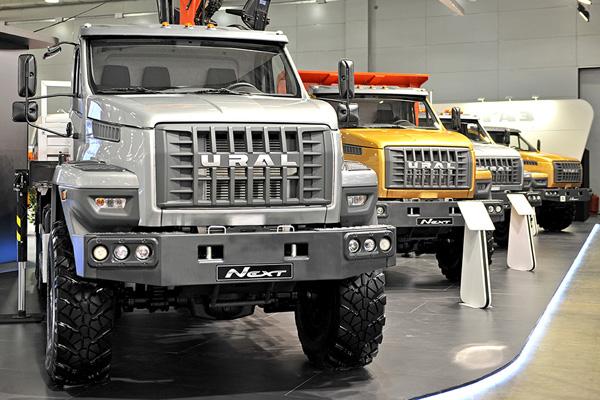 Вышла линейка автомобилей нового поколения «Урал NEXT»