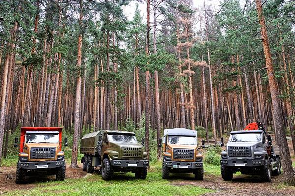 Первый тест-драйв новых автомобилей «Урал NEXT»