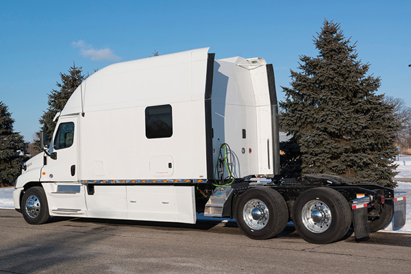 Квартира на колесах для американских дальнобойщиков