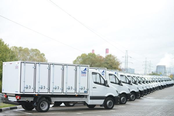 Mercedes-Benz Vans: 20 хлебных фургонов для «Русской продовольственной компании»