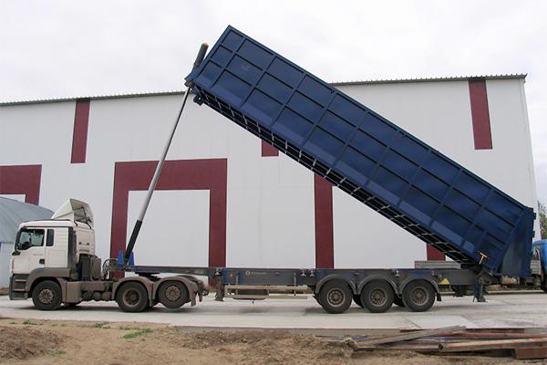 Контейнер Кон-Терра для самосвального контейнеровоза