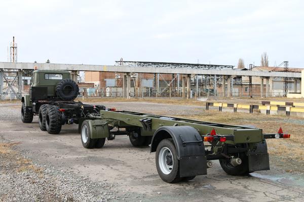 КрАЗ разработал и изготовил новый прицеп КрАЗ-А191Н2