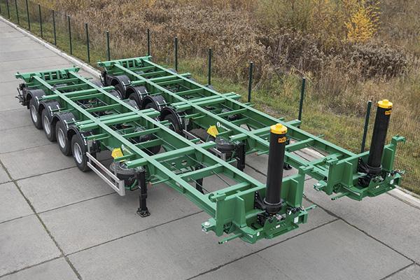 Четырехосные контейнеровозы Grunwald
