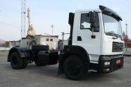 Новое облегченное  шасси  КрАЗ-5401Н2