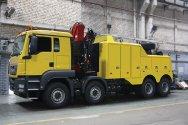 Новинка! Тяжелый грузовой эвакуатор с частичной погрузкой на базе MAN TGS 4 ...