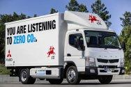 Тест грузовиков Fuso на топливных элементах
