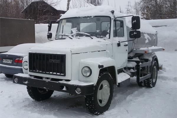 Молоковоз ГАЗ 3309 от компании «РусАвтоГид»