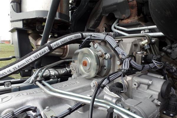 Шестиосный Mercedes-Benz Actros 6555