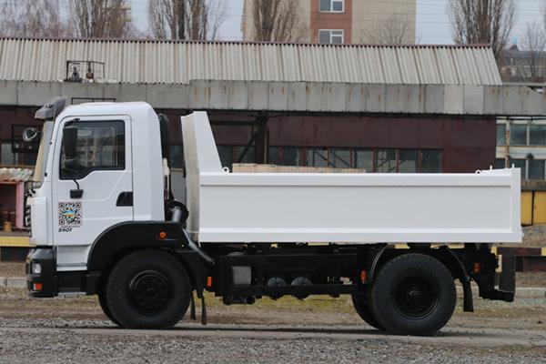 Новый самосвал низкой грузоподъемности КрАЗ-5401С2