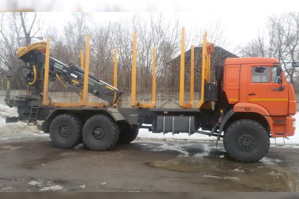 КамАЗ 43118 с гидроманипулятором Велмаш ОМТЛ-97