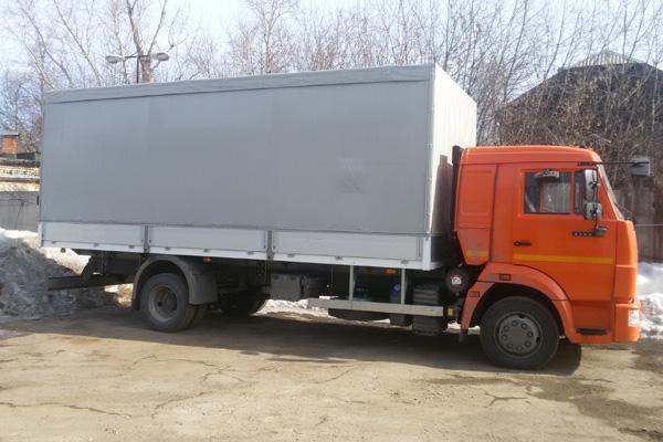 КамАЗ 4308 с европлатформой изготовлен на предприятии «РусАвтоГид»