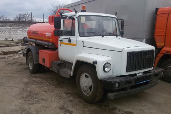 Топливозаправщик на базе ГАЗ 3309 изготовлен предприятием «РусАвтоГид»
