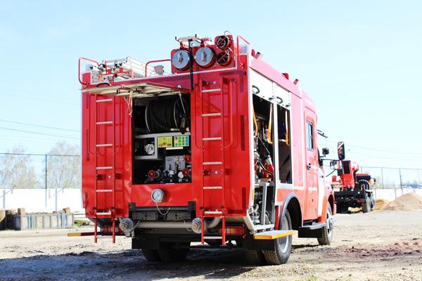 Первая пожарная автоцистерна на базе ГАЗон NEXT на выставке КОМПЛЕКСНАЯ БЕЗОПАСНОСТЬ-2016