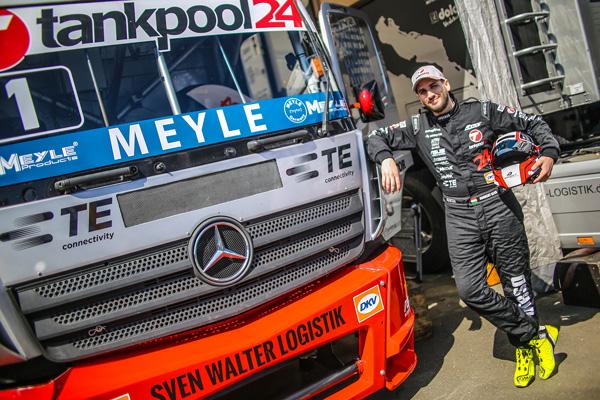 Опоры двигателя MEYLE впервые установлены на гоночных грузовиках