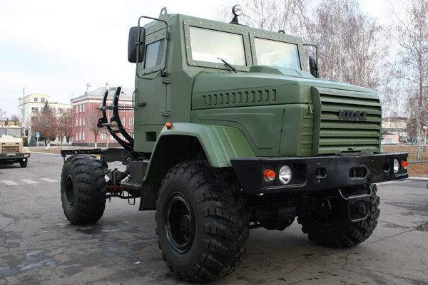 На базе КрАЗа создана новая землеройная машина