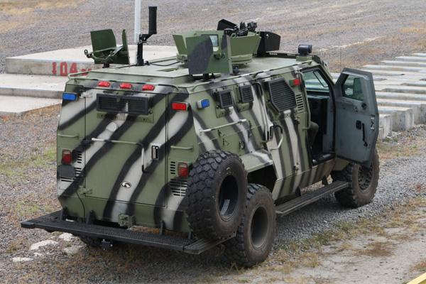 Первый беспилотный КрАЗ Спартан  - первый «умный» украинский автомобиль