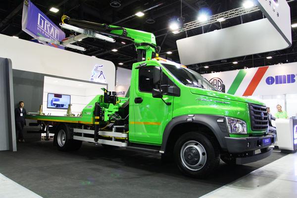 Новые модели ГАЗ NEXT CNG на сжатом газе