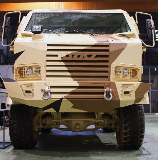 КрАЗ-Hulk – новый бронированный армейский вездеход