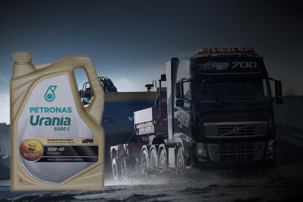 Моторное масло PETRONAS Urania с технологией Viscguard