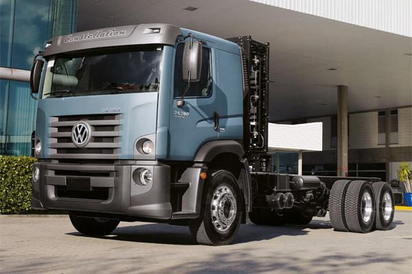 VW Constellation на сжиженном газе