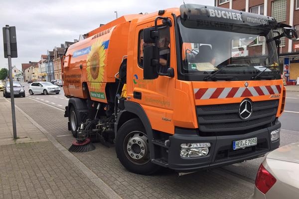 Высокая эффективность уборочной машины c АКПП Allison