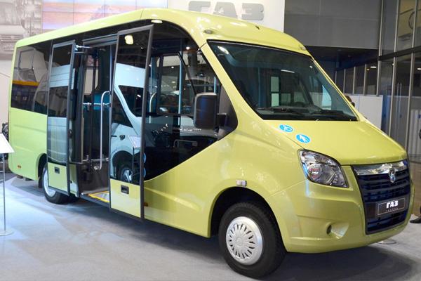 Новые модели автобусов на базе ГАЗель NEXT