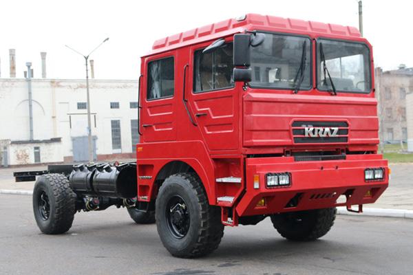 Новое вездеходное шасси КрАЗ-5401НЕ